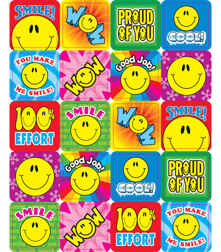 Smile Fun - Motivational Stickers