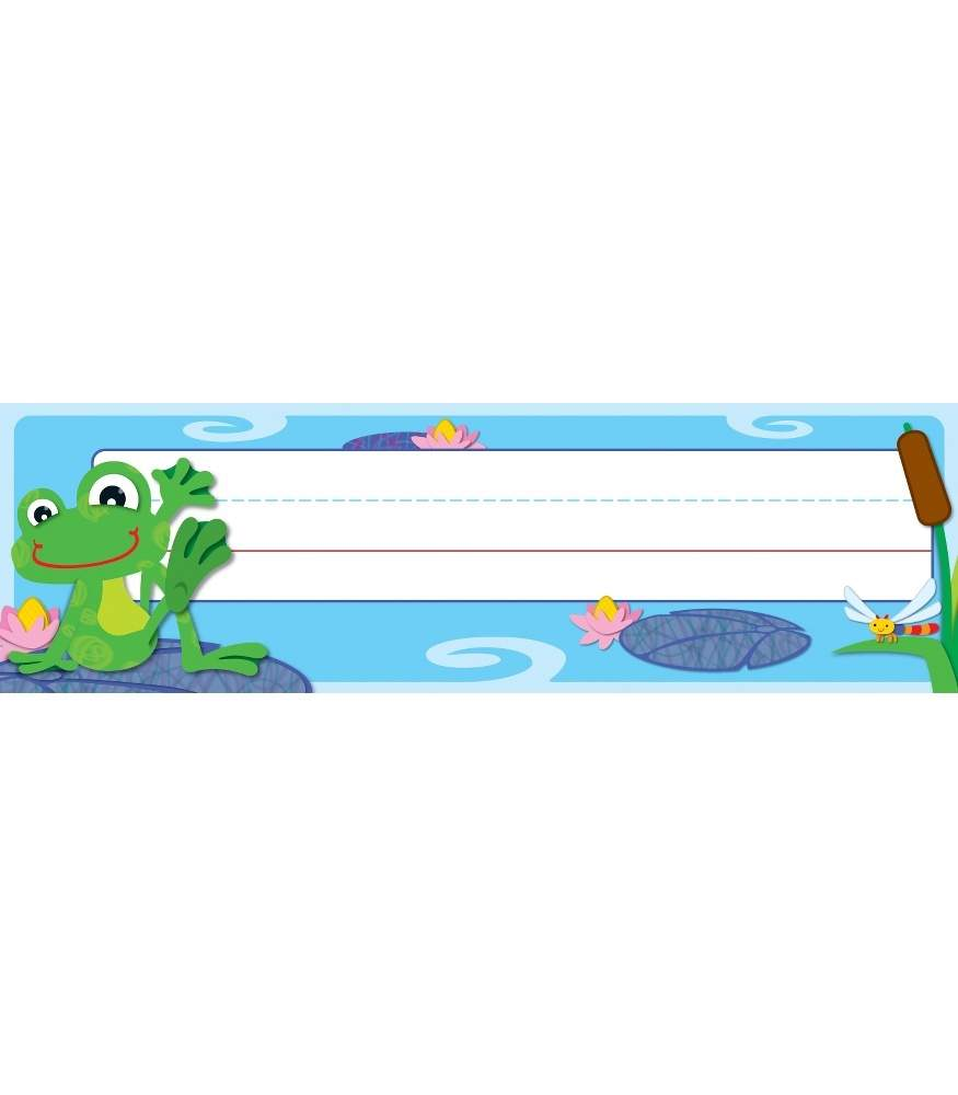 FUNky Frogs Quick Stick® Nameplates