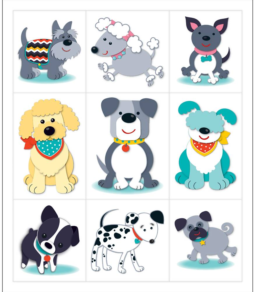 Hot Diggity Dogs - Prize Pack Stickers