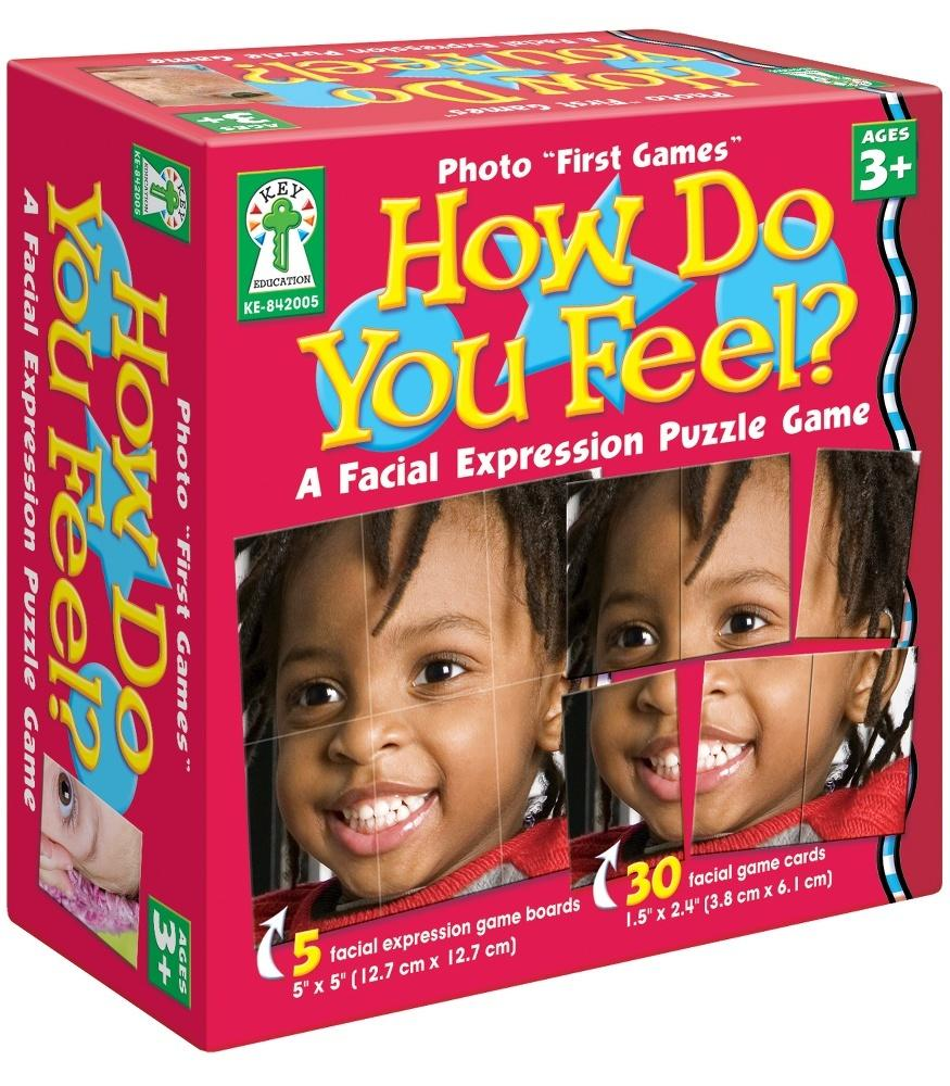Photo First Games: How Do You Feel? Board Game
