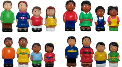 Ethnic Family Figures 5