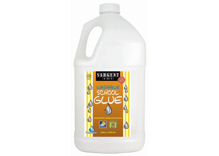Sargent Washable School Glue - Gallon