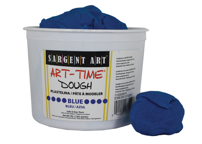 Art Time Dough, 3 lb - Blue