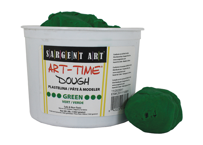 Art Time Dough, 3 lb - Green