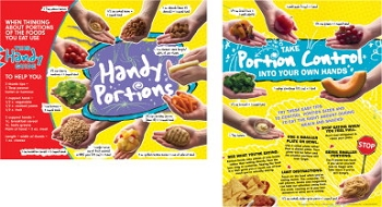 Learning ZoneXpress Elementary-Middle School Handy Portions Tablet