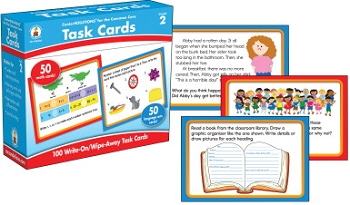 Carson-Dellosa CenterSOLUTIONS for the Common Core Task Cards, Grade 2