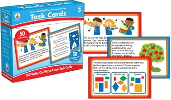 Carson-Dellosa CenterSOLUTIONS for the Common Core Task Cards, Grade 3