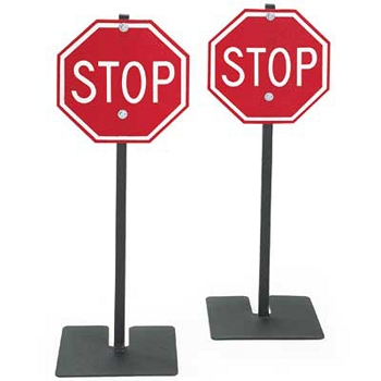 Traffic Signs Set 3, Stop Signs