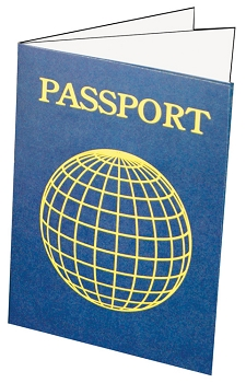 Blank Passports - Pack of 12