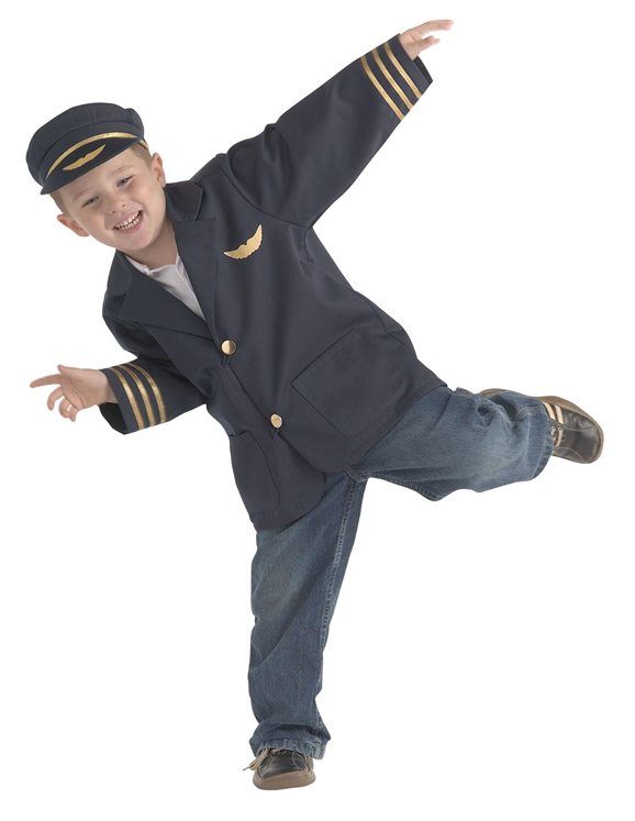 Airline Pilot Dramatic Dress Up