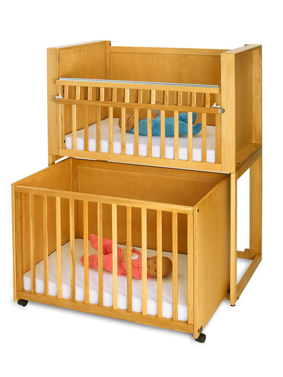 Bunkie C-2 Two Infant Stackable Crib