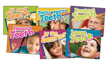 Healthy Teeth Book Set, Set of 6