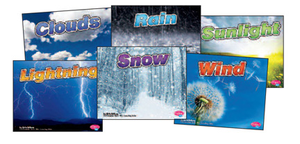 Weather Basics Book Set, Set of 6