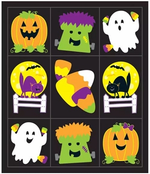 Halloween Friends - Prize Pack Stickers