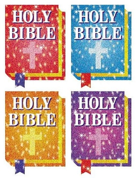Bibles Dazzle Stickers