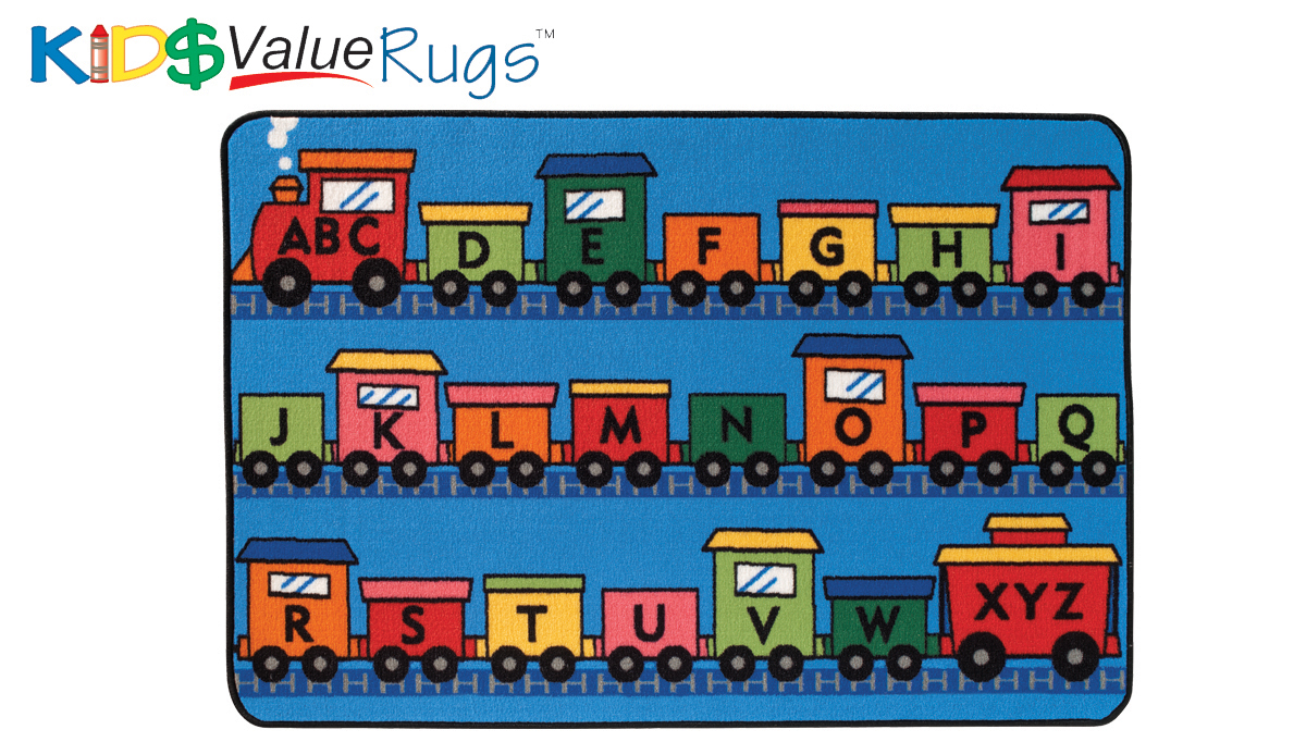 Alphabet Train - Multiple Sizes
