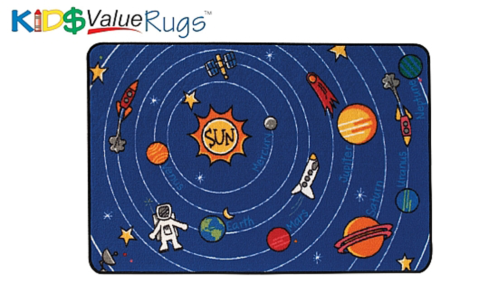 Spaced Out Value Rug
