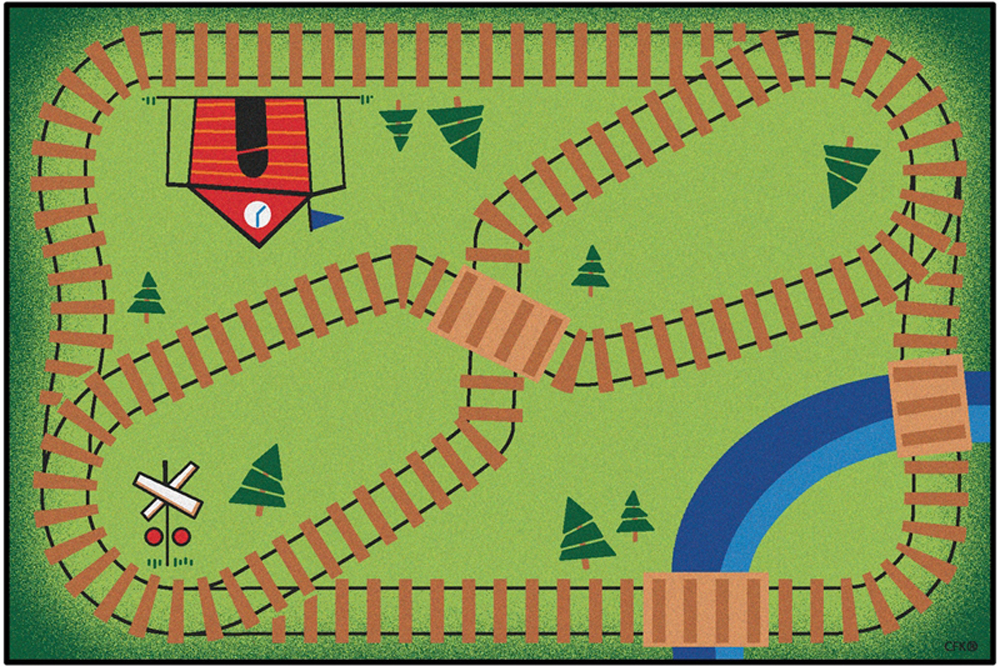 Railroad - Playtime Rug