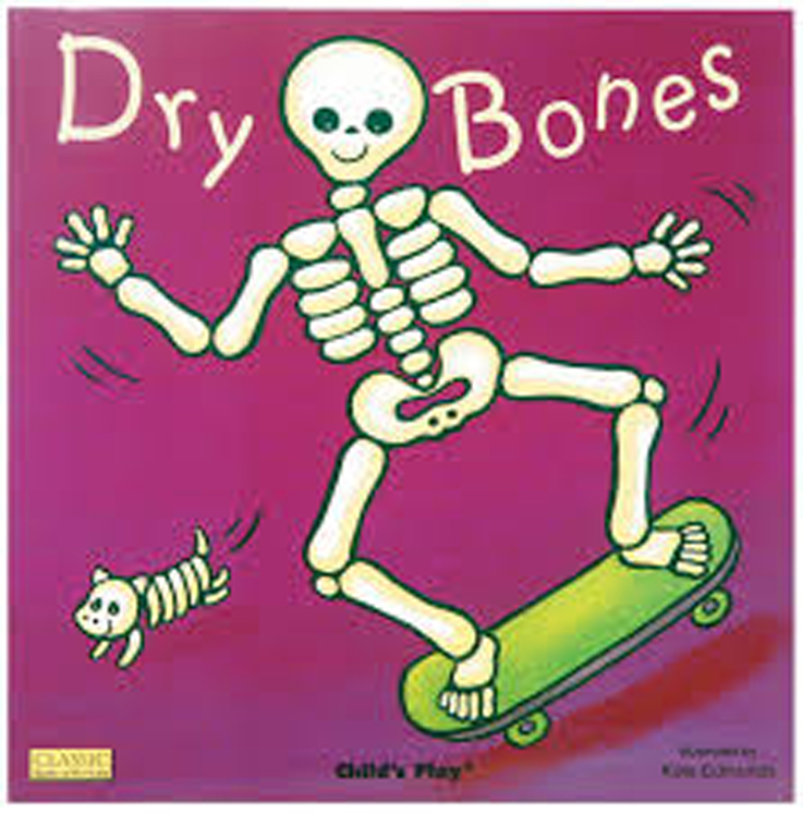 Dry Bones Classic Board Book with Holes