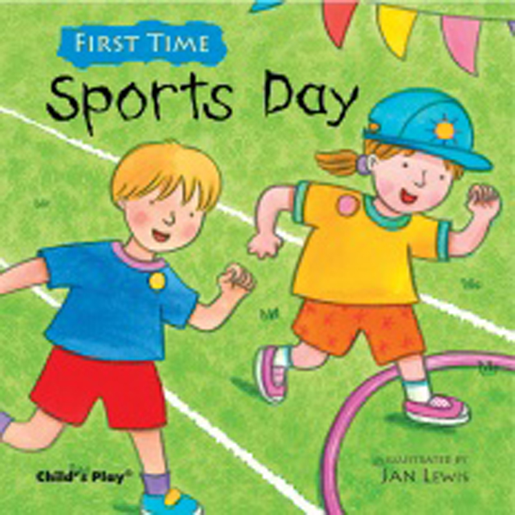 Sports Day Soft Cover Book