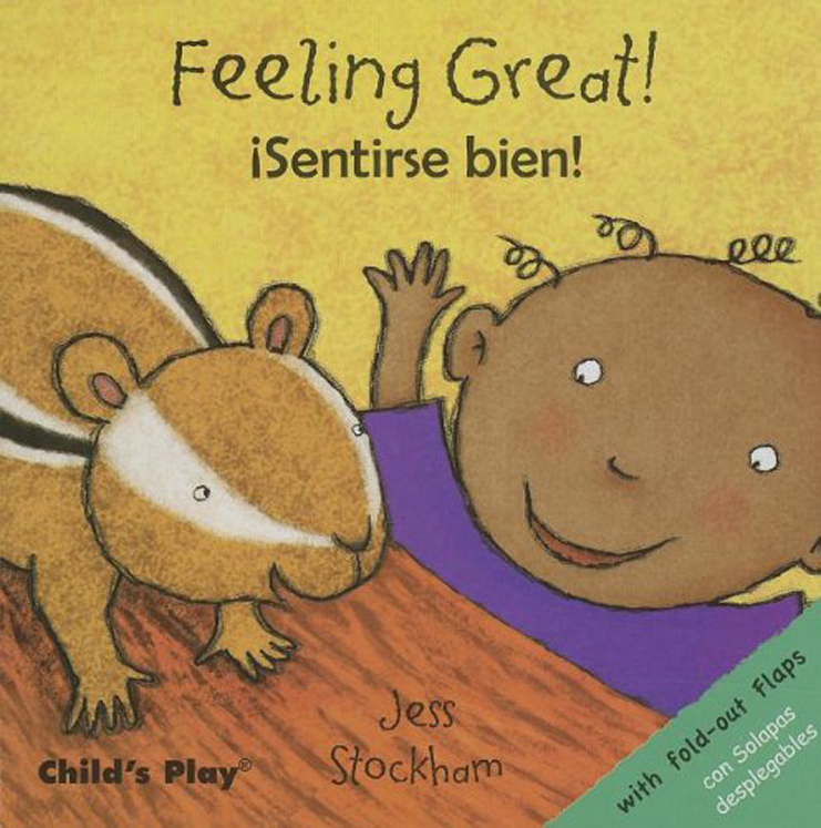 Feeling Great! - English/Spanish Bilingual Board Book