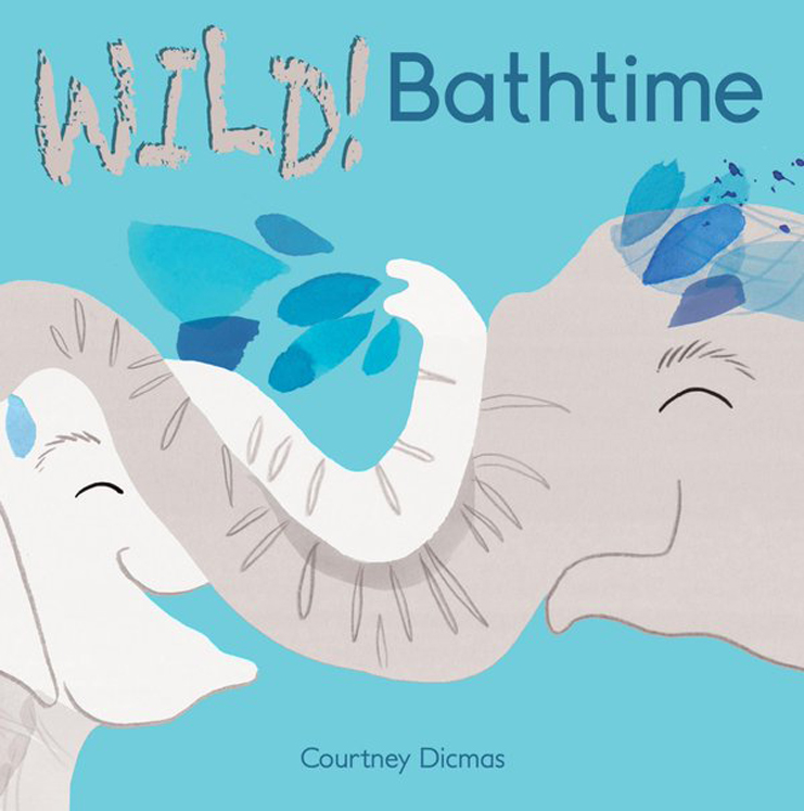 WILD Bathtime! - English/Spanish Bilingual Board Book