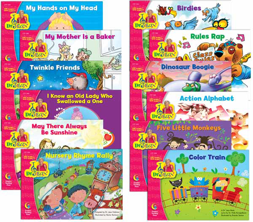 Sing Along & Read Along with Dr. Jean Variety Pack