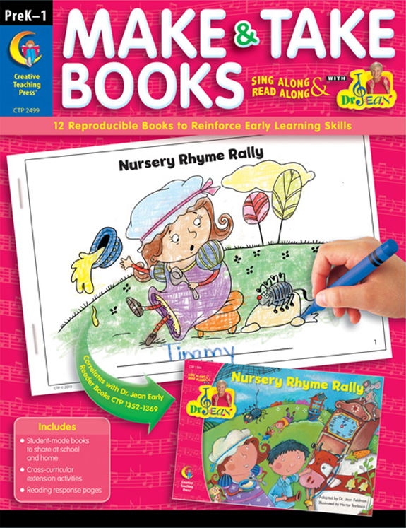 Dr. Jean's Make & Take Books