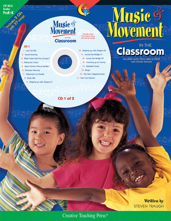 Music & Movement in the Classroom, Grades PreK-K