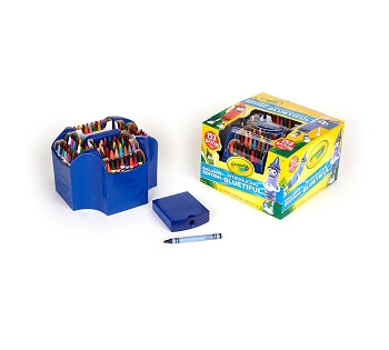 Ultimate Crayon Collection - 152 Color Set with Caddy and Sharpener