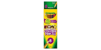Crayola 8-Pack Multicultural Pencils
