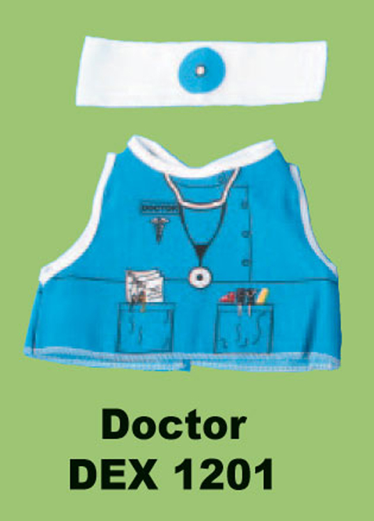 Doctor Doll and Teddy Bear Costume