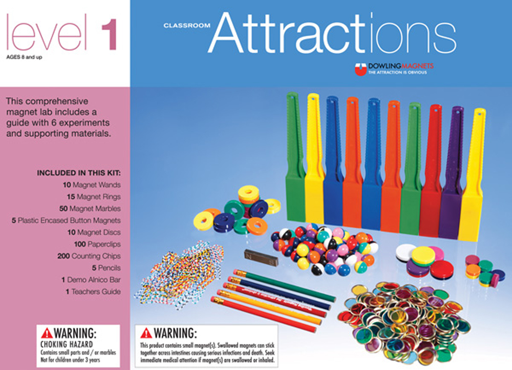 Classroom Attractions Magnet Kit-Level 1