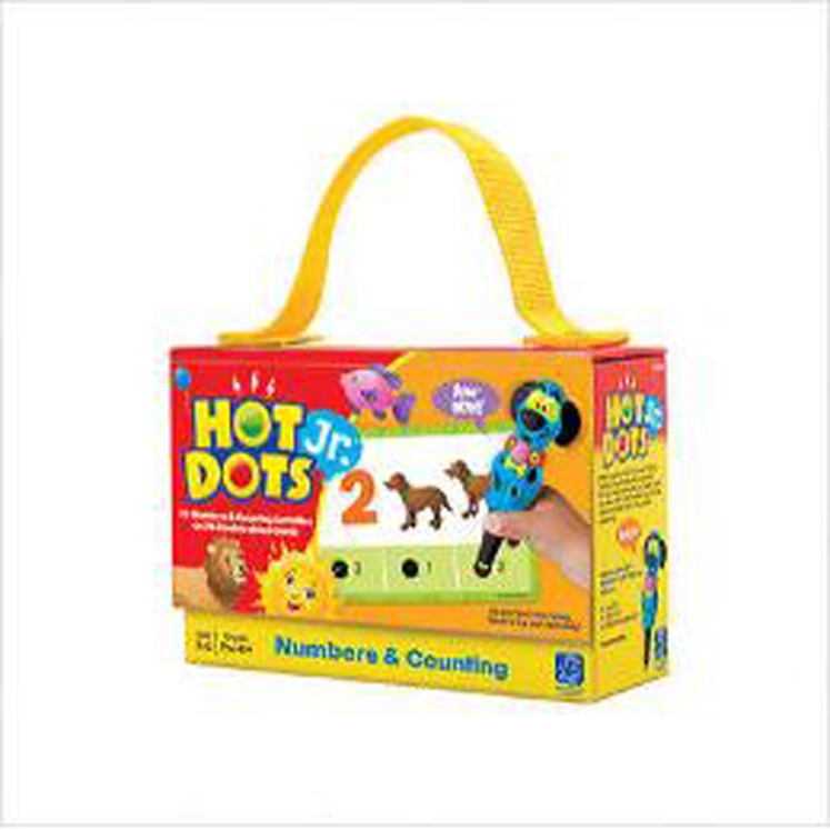 Hot Dots Jr. Numbers & Counting Card Set