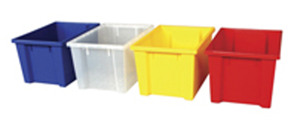 8'' Deep Large Storage Bins, Set of 24, with or without Lids