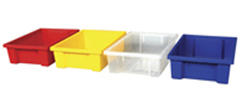 4'' Deep Small Storage Bins, Set of 24, with or without Lids