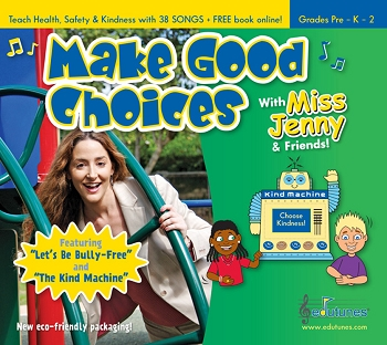 Edutunes Make Good Choices Book & CD