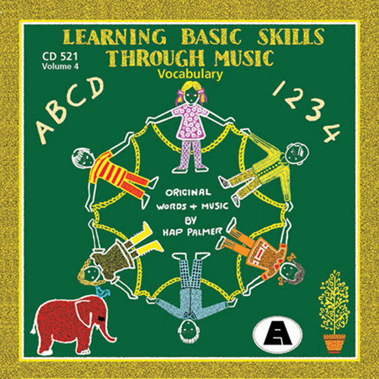 Learning Basic Skills Through Music, CD, Building Vocabulary