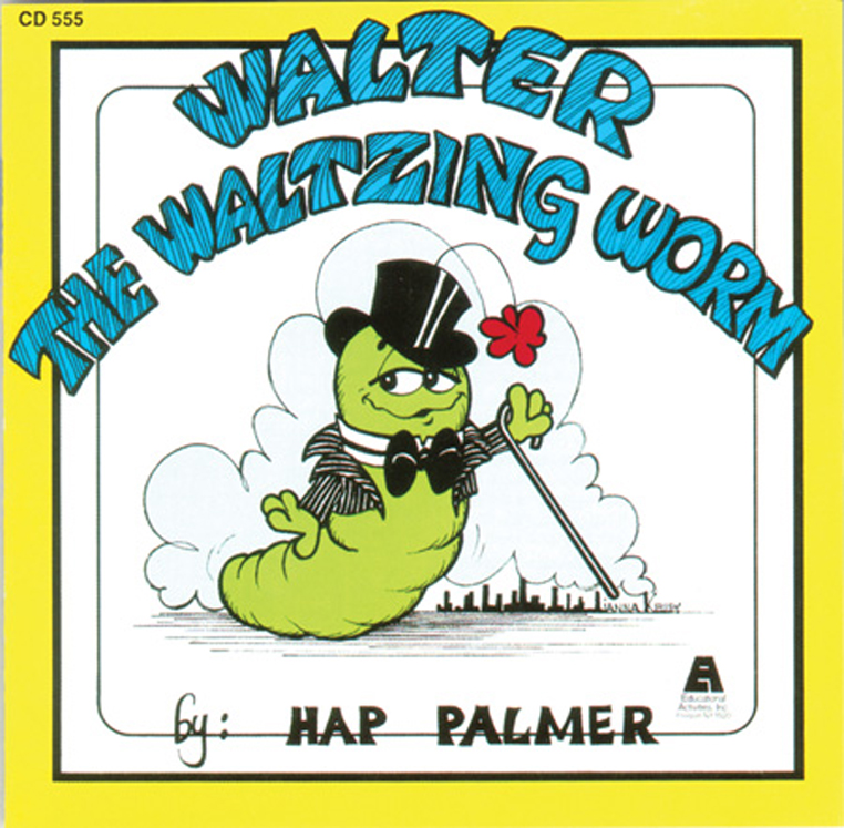 Walter the Waltzing Worm, CD