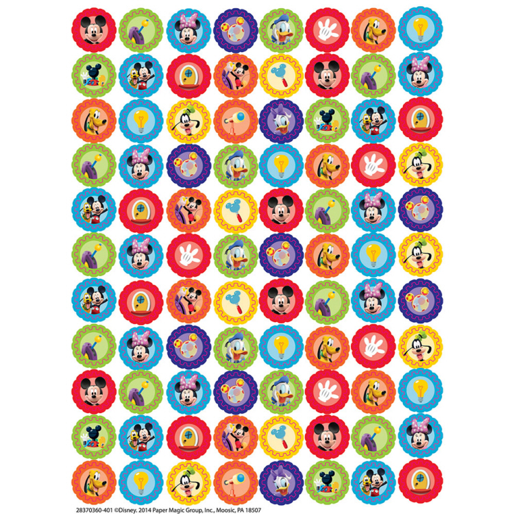 Mickey Mouse Clubhouse Gears Mini Stickers