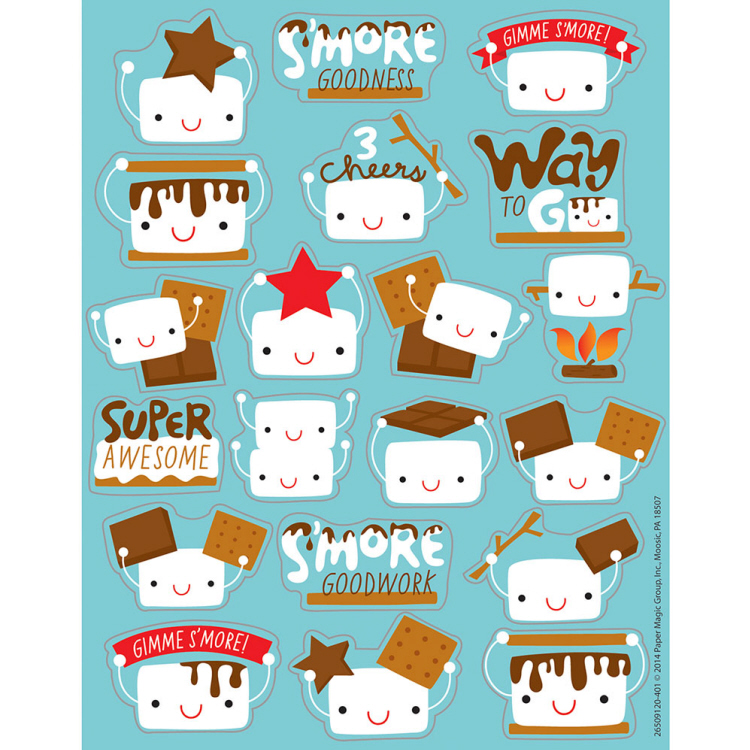 Marshmallow Scented Stickers