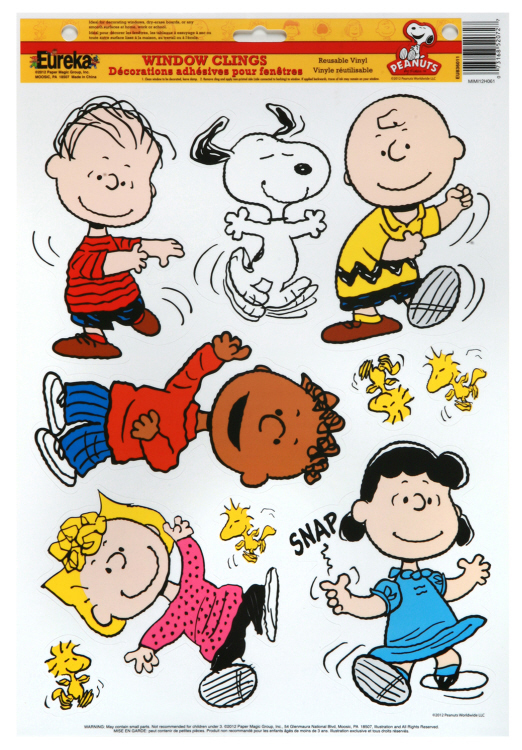 Peanuts® Classic Characters Window Clings