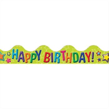 Color My World Birthday - Deco Trim