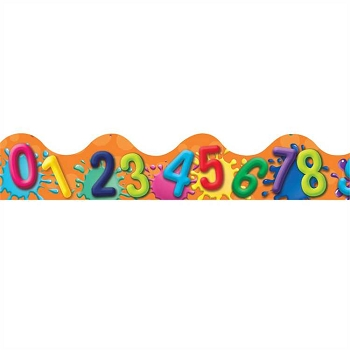 Color My World Numbers - Deco Trim