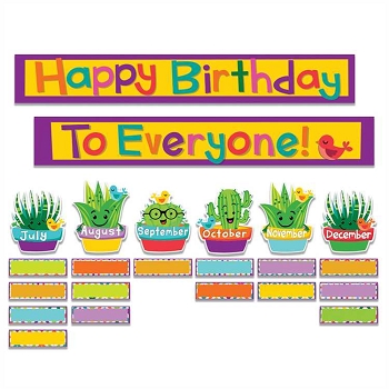 A Sharp Bunch Birthday Mini Bulletin Board Set