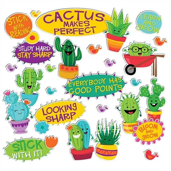 A Sharp Bunch Encourage & Position Words Mini Bulletin Board Set