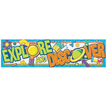 Color My World Explore & Discover Banner