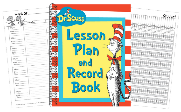 Cat in the Hat™ Lesson Plan Book