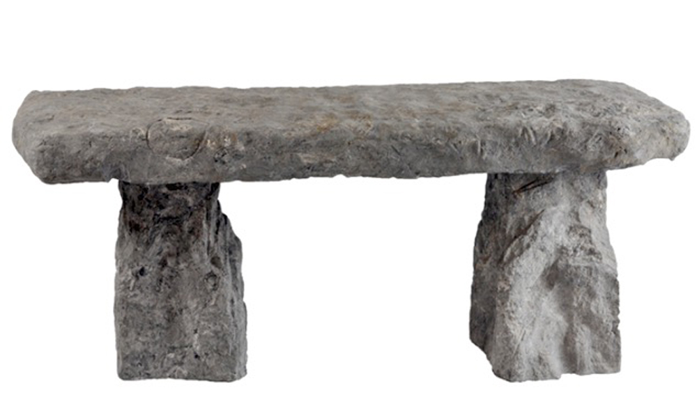 Natural Edge Bench, 50