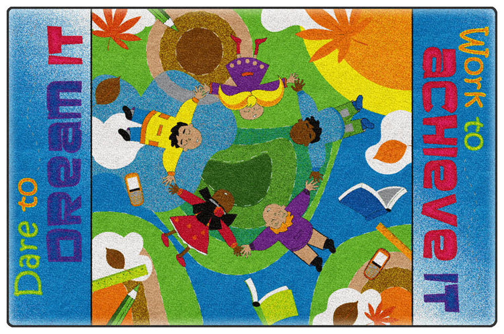 Dare To Dream Rug - Multiple Sizes